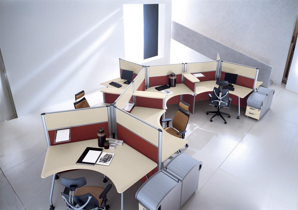 Mobili Per Ufficio Della Rovere : Arredo ufficio operativo della rovere linea kompas gimaoffice