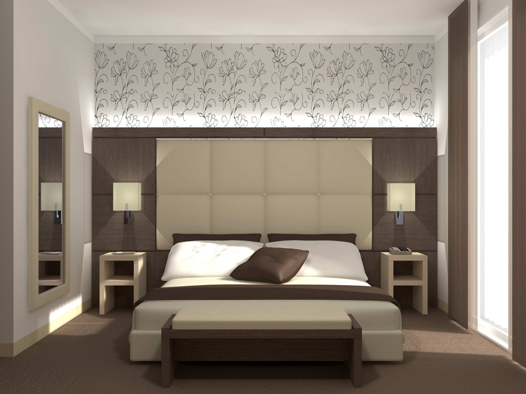 Arredo camere da letto e suite hotel gimaoffice for Camere per single arredamento