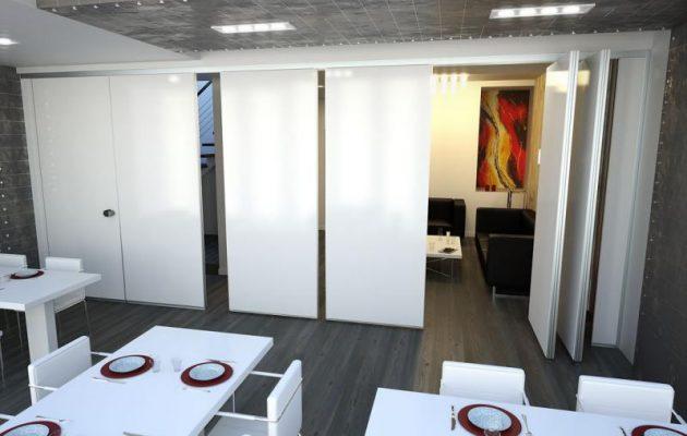 Gimaoffice pareti divisorie mobili manovrabili ufficio - Pareti mobili divisorie ...