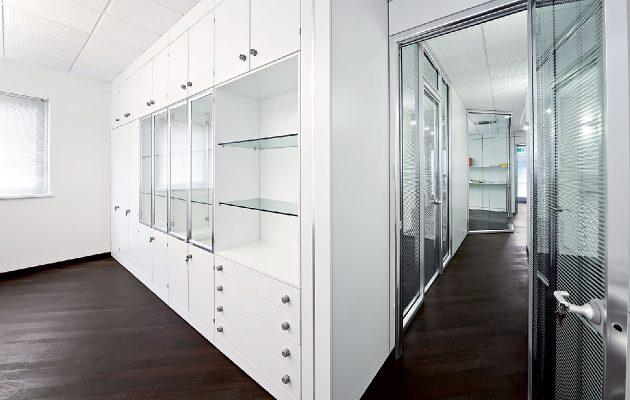 Pareti Attrezzate Ufficio Usate : Gimaoffice pareti divisorie ...
