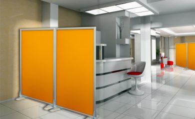 Mobili per ufficio open space design casa creativa e for Divisori mobili per ufficio